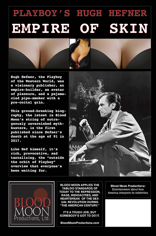 Playboy's Hugh Hefner: Empire of Skin (back cover art)